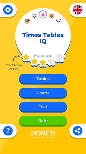 Multiplication Table IQ / Times Tables screenshot 1