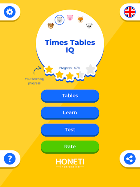 Multiplication Table IQ / Times Tables screenshot 17