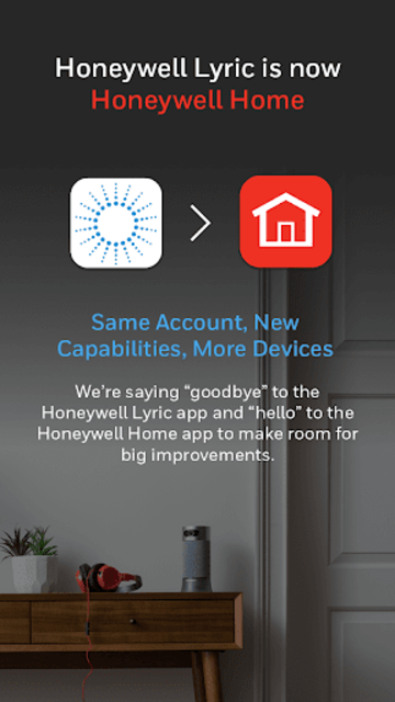 Honeywell Home screenshot 1