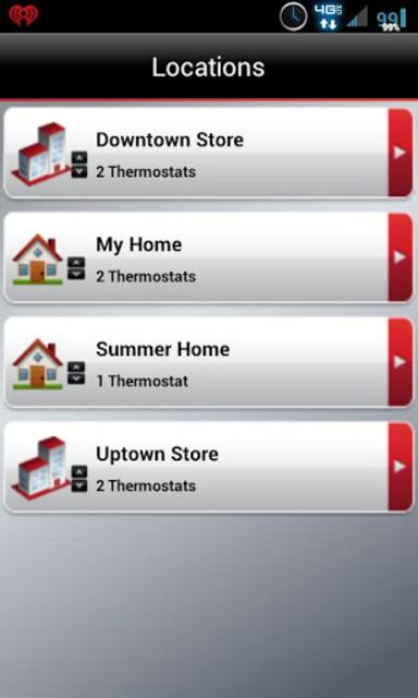 Total Connect Comfort screenshot 1