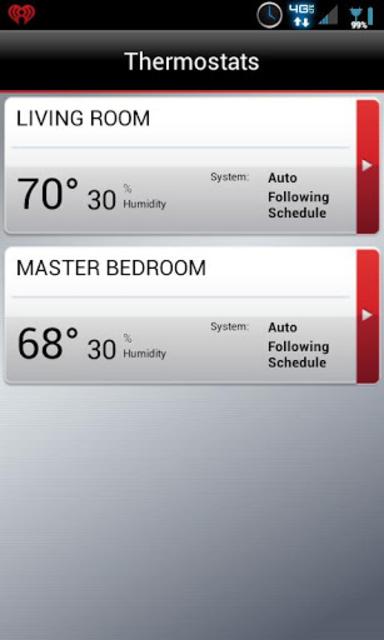 Total Connect Comfort screenshot 2