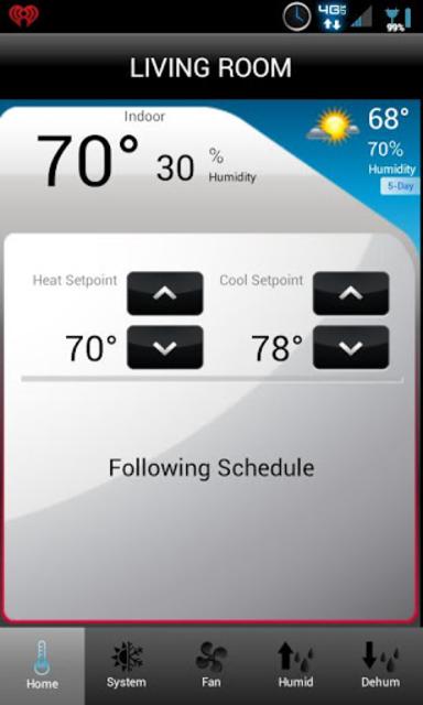 Total Connect Comfort screenshot 4