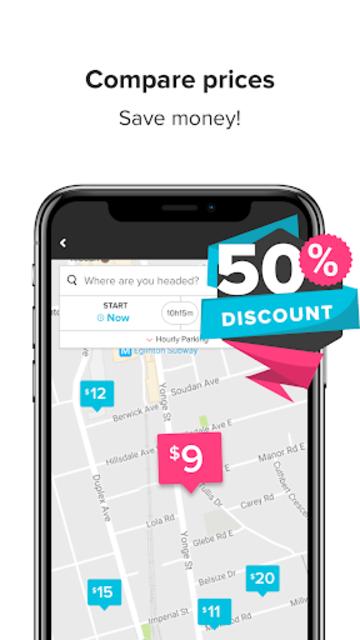 HonkMobile: Find & Pay for Parking screenshot 2
