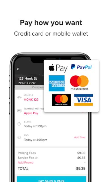 HonkMobile: Find & Pay for Parking screenshot 3