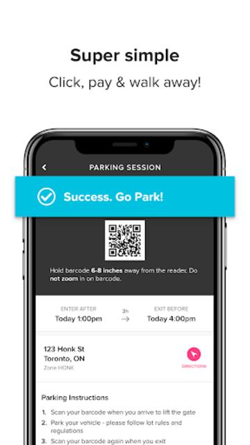 HonkMobile: Find & Pay for Parking screenshot 4