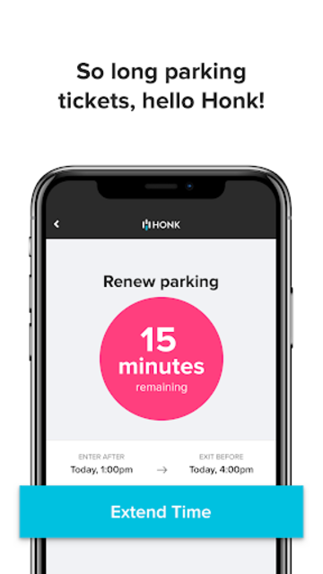 HonkMobile: Find & Pay for Parking screenshot 5