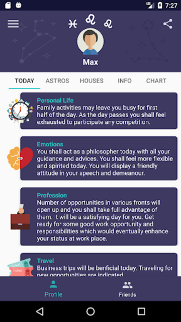 Horos - Natal Chart screenshot 1