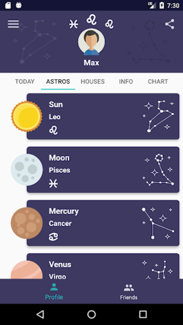 Horos - Natal Chart screenshot 2