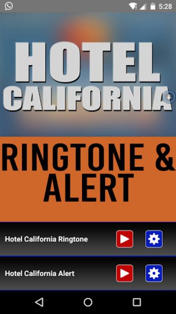 Hotel California Ringtone screenshot 1