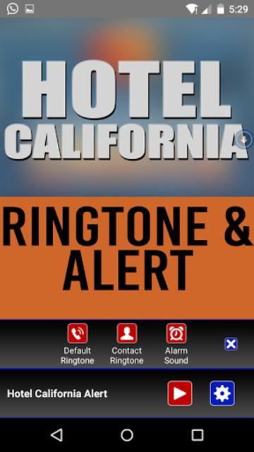 Hotel California Ringtone screenshot 2