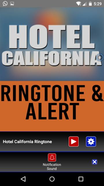 Hotel California Ringtone screenshot 3