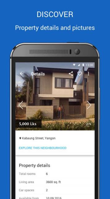 House.com.mm Property Buy/Rent screenshot 1