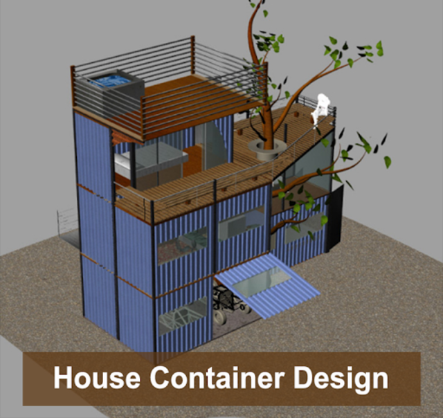 House Container Design screenshot 4
