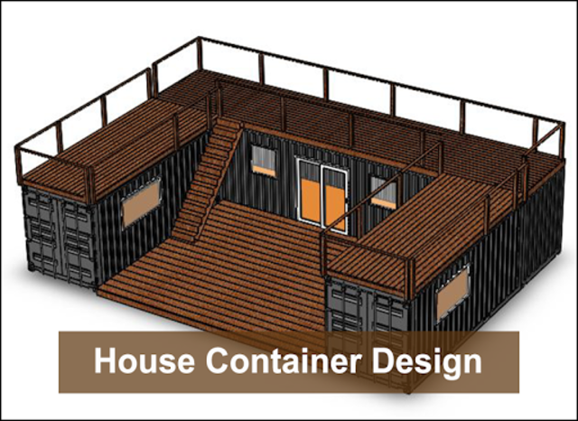 House Container Design screenshot 5