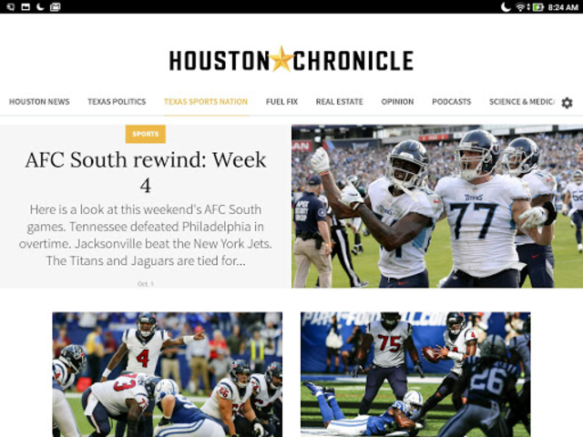 Houston Chronicle News screenshot 1