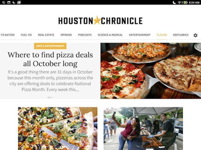 Houston Chronicle News screenshot 2