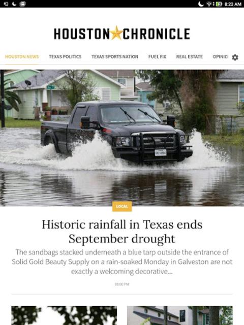 Houston Chronicle News screenshot 3