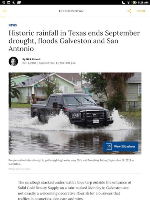Houston Chronicle News screenshot 4