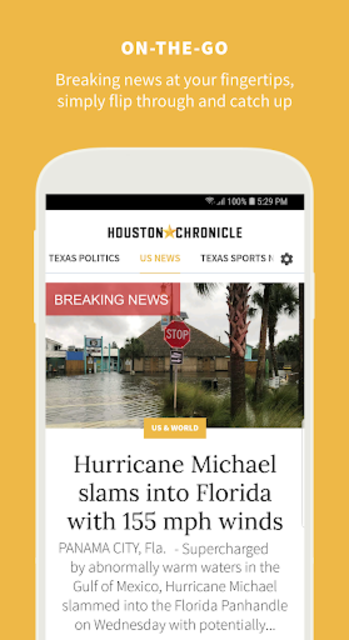 Houston Chronicle News screenshot 6