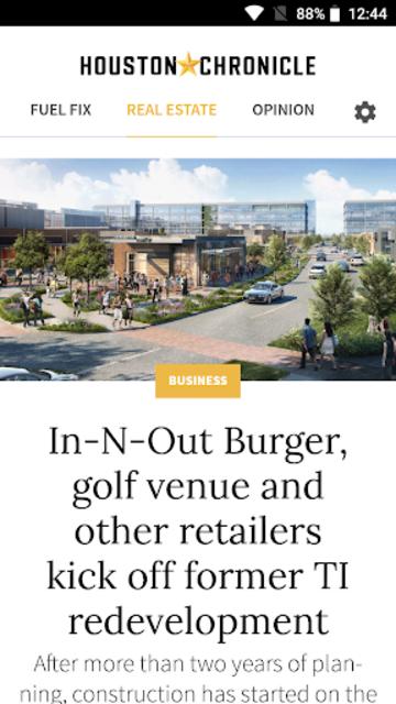 Houston Chronicle News screenshot 10