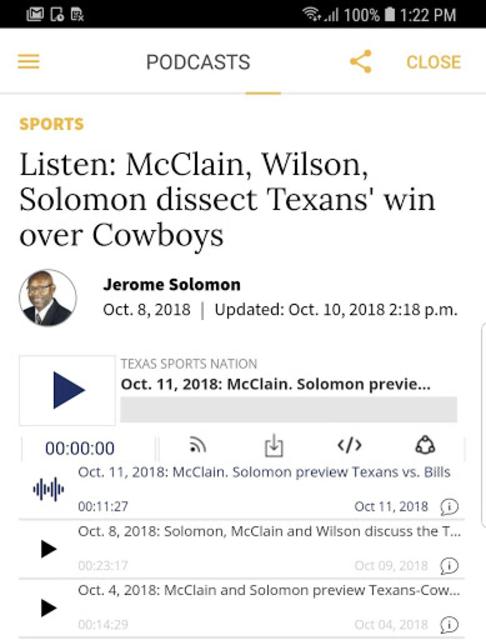 Houston Chronicle News screenshot 13