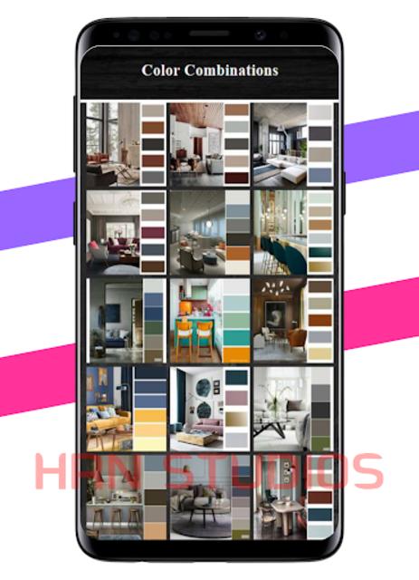 Color Combinations for Home Interiors screenshot 1