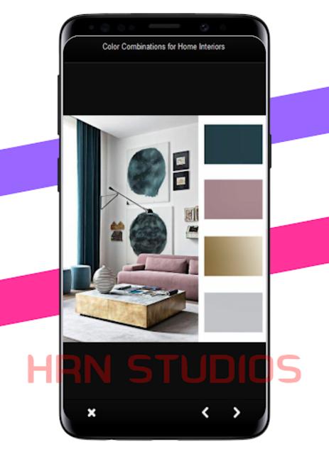Color Combinations for Home Interiors screenshot 3
