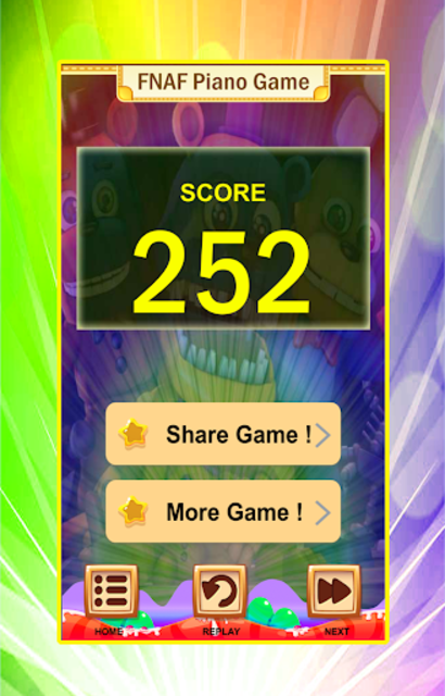 FNAF Piano Tiles Game screenshot 6