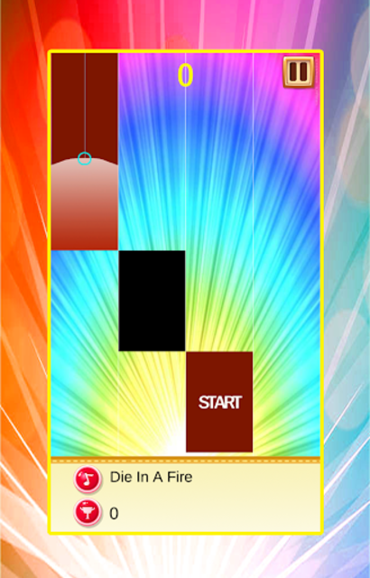 FNAF Piano Tiles Game screenshot 1