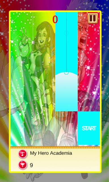 My Hero Academia Piano Tiles Magic screenshot 3