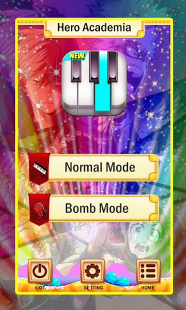 My Hero Academia Piano Tiles Magic screenshot 4