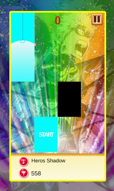 My Hero Academia Piano Tiles Magic screenshot 6