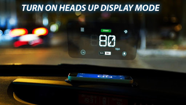 Speedometer: Heads Up Display & Speed Widget screenshot 1