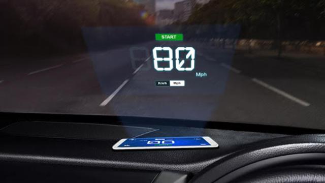 Speedometer: Heads Up Display & Speed Widget screenshot 7