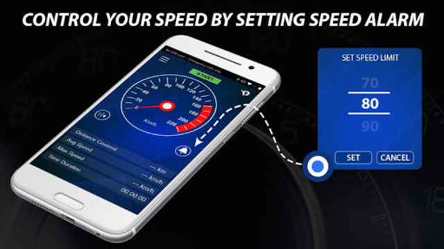 Speedometer: Heads Up Display & Speed Widget screenshot 22