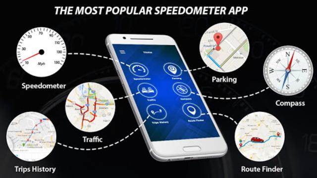 Speedometer: Heads Up Display & Speed Widget screenshot 24