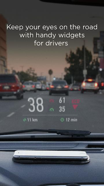 HUD Widgets —Driving widgets with HUD mode screenshot 1