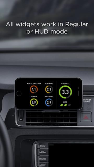 HUD Widgets —Driving widgets with HUD mode screenshot 2