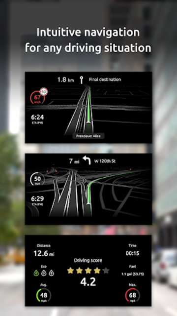 HUDWAY Go — GPS Navigation & Maps with HUD screenshot 5