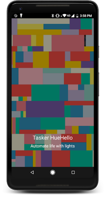 Tasker HueHello  (Automation with Philips Hue) screenshot 1