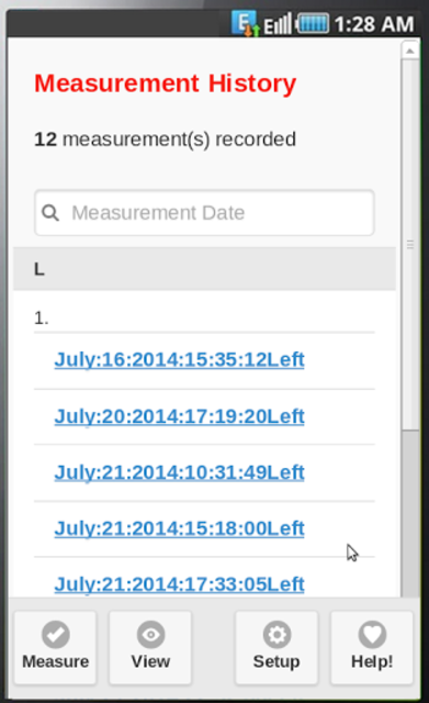 TremWatch(TM) Hand Tremor Test screenshot 3
