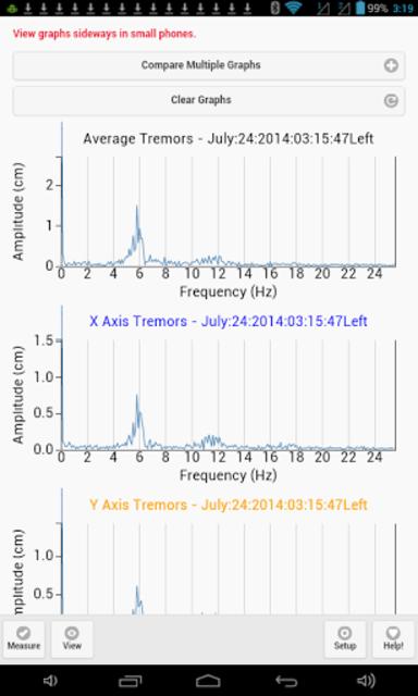 TremWatch(TM) Hand Tremor Test screenshot 20