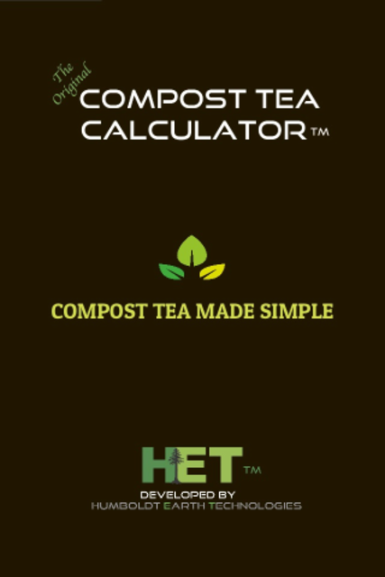 Compost Tea Calculator screenshot 1