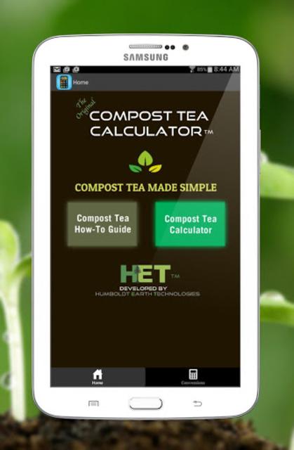 Compost Tea Calculator screenshot 3