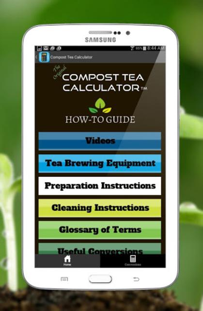 Compost Tea Calculator screenshot 4