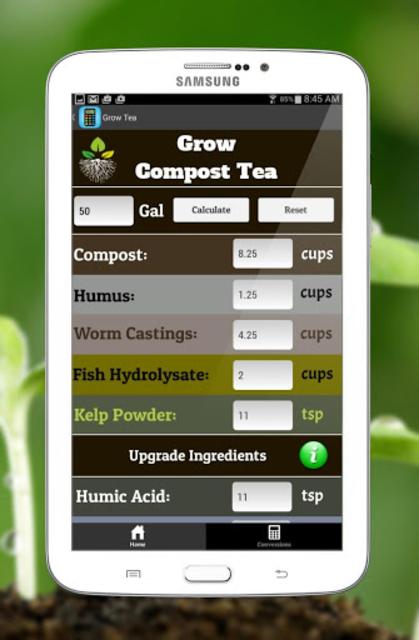 Compost Tea Calculator screenshot 7