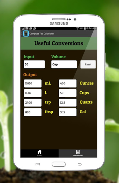 Compost Tea Calculator screenshot 8