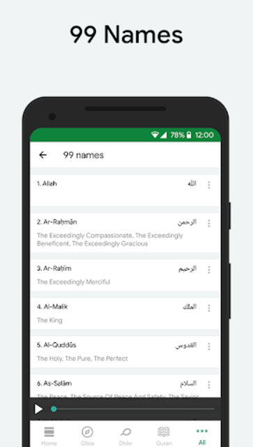 Muslim: Prayer Times, Qibla Finder, Quran screenshot 6