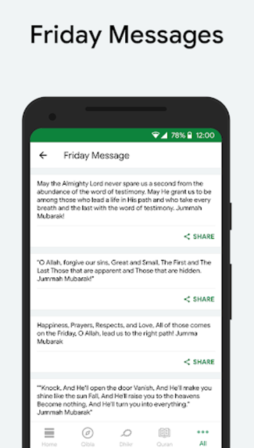 Muslim: Prayer Times, Qibla Finder, Quran screenshot 7