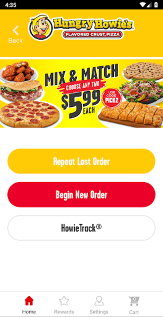 Hungry Howies Pizza screenshot 2